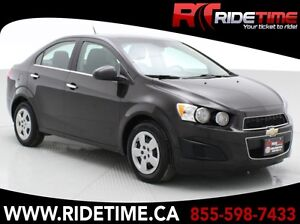 2013 Chevrolet Sonic LT - Automatic - ONLY $67 Bi-Weekly!