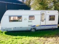 Burstner 5 berth 2005, full awning , motor mover...excellent condition( like hobby fendt)