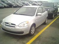 2010 Hyundai Accent HATCH A VENIR