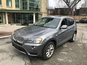 2014 BMW X3 xDrive28i/ One Owner/ ONLY 40 KM!