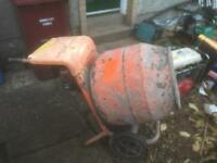 Belle petrol cement mixer