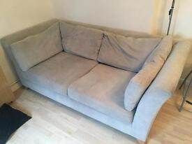 2 x 2 seater sofas (identical) - can be taken individually