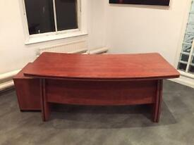 Executive Desk and Pedestal
