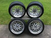 Cruize 190 SP wheels 18 inch deep dish staggered