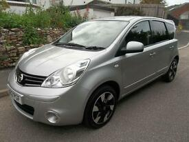 Nissan Note 1.4 N-Tec+ 5dr (silver) 2012