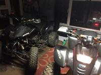 Quad bike bashan warrior road legal 250cc