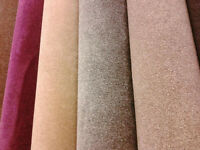 LARGE RANGE OF CARPETS IN ALL SIZES AND COLOURS FROM ONLY(price per square metre)