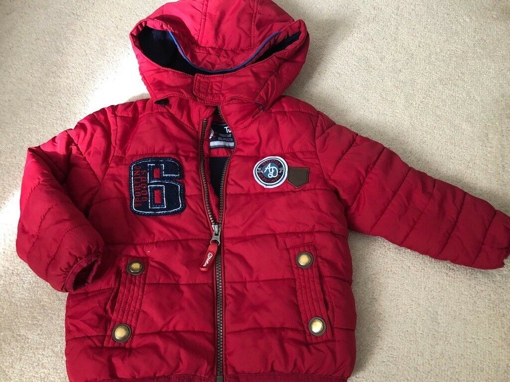 aacab797d109 Red boys jacket 12-18 months