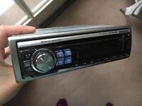 alpine cde-9874rb cd/mp3 player car stereo