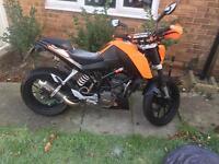 Ktm duke 125cc (not gilera Yamaha)