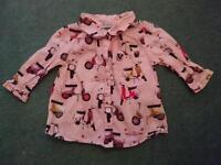 Girls 3-6 months Next blouse
