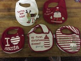 selection of baby christmas items, all individually priced