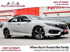 2017 Honda Civic Sedan TOURING | NEAR BRAND NEW | NAVIGATION - F