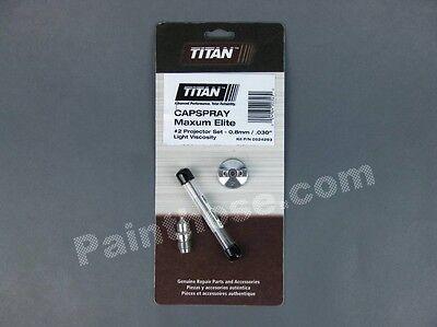 Titan Capspray 0524293 Or 524293 2 Projector Set Oem