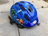 Jumpstart Blue Cars Bike Helmet