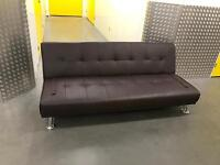 Leather sofa bed, Free delivery