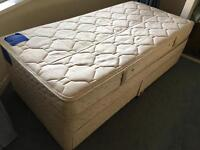 Single bed base with draws