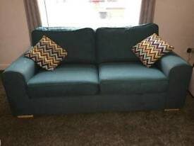 3 piece sofa with foot stool