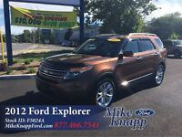 2012 Ford Explorer Limited *Leather *Navi *MoonRoof *2.0L Ecoboo