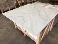 Venatino Carrara select marble tiles floor and wall cover 610x610x12mm