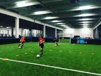 2 soccer 5-a-side pitches for sale