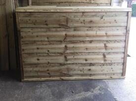 High Quality Pressure Treated Wooden Fence Panels ~ Wayneylap 🌲