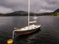 Contessa 26 1973 classic yacht