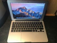 MacBook Air 11 inch (2015 year), Intel i5, 1.6 GHz, 4GB Ram, 128 GB flash storage, 3 month warranty