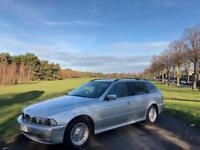2001/51 BMW 520i SE TOURING, 2.2 PETROL, AUTOMATIC, ESTATE ***FULL LEATHER***DRIVES GREAT***NEW MOT