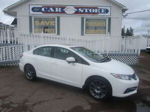 2014 Honda Civic Touring SUNROOF NAV HTD LTHR BACK UP CAMERA
