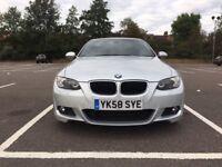 BMW 3 series 2.0 320d M sport 2dr convertible summer bargain