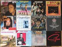 "Lot of 12 Vinyl LP 12"" Records + 2 78's (Johnny Cash, Cliff Richard, The Osmonds, Frank Sinatra etc)"