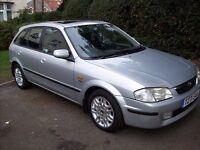 Mazda 323F SE 1.8 petrol 1999