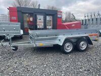 BRAND NEW 10X5 FLAT TRAILER 750KG