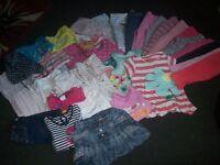 girls clothes bundle age 18-24mths