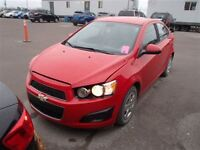 2012 Chevrolet Sonic A/C A VENIR