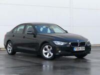 2014 64 REG BMW 3 Series 2.0 320d EfficientDynamics 4dr 1 OWNER-FBMWSH-FULL LEATHER-BLUETOOTH