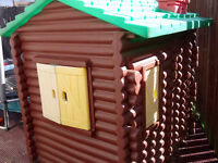 playhouse Little Tikes log cabin used