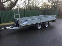 Ifor Williams 12x5'6 Dropside Trailer -AS NEW
