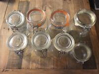 Miscellaneous Kilner Jars - great condition