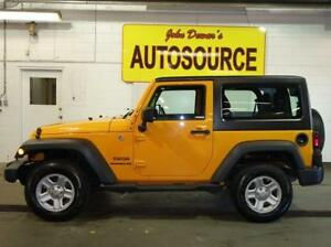 2012 Jeep Wrangler Sport 4WD Peterborough Peterborough Area image 1