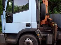 tipper grab truck 7.5gvw alloy body eminox exuast beacons tidy condition mot