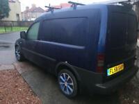 Vauxhall Combo van project