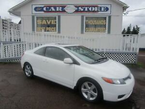 2008 Honda Civic EX-L SUNROOF HTD LEATHER ALLOYS
