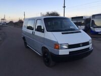 LEFT HAND DRIVE VOLKSWAGEN TRANSPORTER, DRIVES WELL,LWB,GOOD ENGINE & MECHANICS,PAPER SORTED.CALL