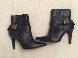 Boots - faith ankle boots size 4