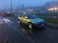 Rover streetwise 1.4 long mot cheap run about ideal work car