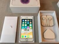 64gb - IPhone 6 - factory unlocked - boxed - gold mint condition