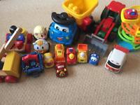 Bundle of various vehicle