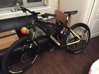 "Voodoo bantu 2016 27.5"" Mountain bike (with receipt)"